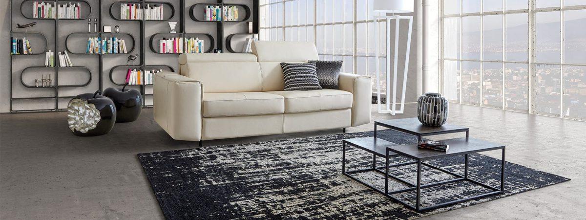 ספה מעור מדגם BAYA דיבאני סנטר