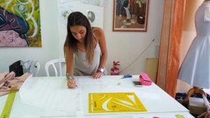 לימודי עיצוב אופנה ותפירה אילנה ברטל